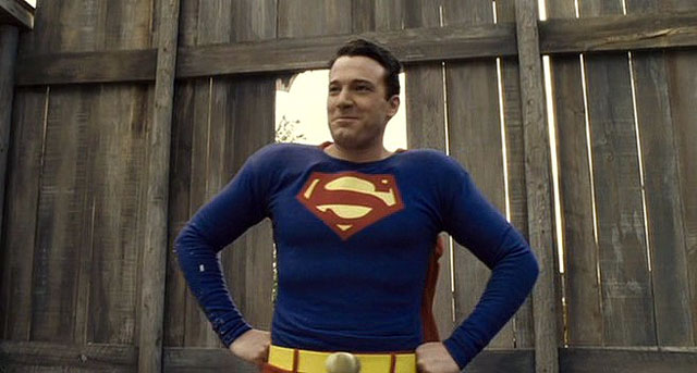 Ben Affleck as superman in hollwoodland