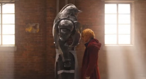 Fullmetal Alchemist live action with the pepole being real nsfw
