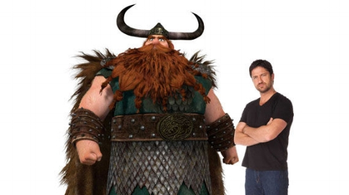 gerard butler that time he got sucked in the cartoon universe and me stocik