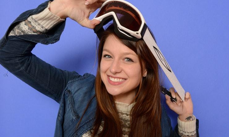 Melissa benoist with sky stuff also supergirl