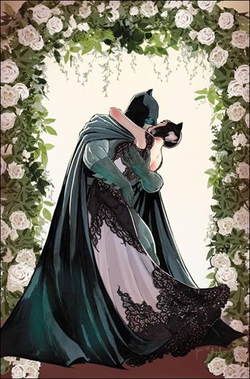 Batman and Catwoman wedding Selina Kyle Bruce Wayne