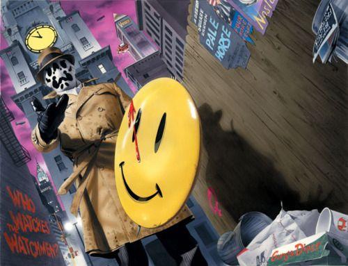 Watchmen Alan Moore Dave Gibbons  John Higgins comic dc  Rorschach's death Rorschach Alex ross