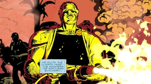 Watchmen Alan Moore Dave Gibbons  John Higgins comic dc  comedian Vietnam