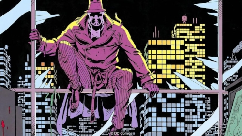 watchmen siting and thinking about world