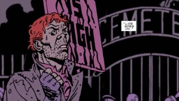 Rorschach watchmen end is nigh Watchmen Alan Moore Dave Gibbons  John Higgins comic dc  comedian Vietnam