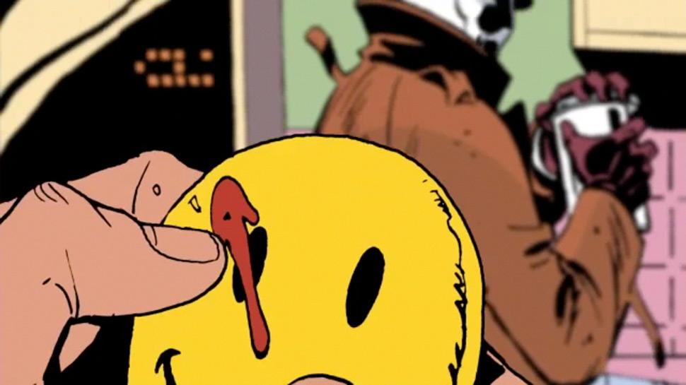 Watchmen Alan Moore Dave Gibbons  John Higgins comic dc  button