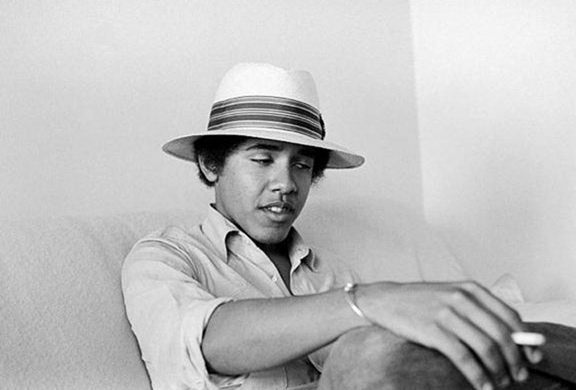 young sexy Barack Obama