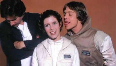 """Mark Hamill  as  Luke Skywalker , a powerful  Jedi Master  who has been in self-imposed exile on the planet  Ahch-To . [11]  [12]  Hamill voices Dobbu Scay, named after the film's editor,  Bob Ducsay . During the Canto Bight scene, the character mistakes BB-8 as a slot machine. [13]  [14]  [15]    Carrie Fisher  as  General Leia Organa , twin sister to Luke, former princess of  Alderaan , and a leading general in the Resistance. [12]  This was Fisher's final film role before her death on December 27, 2016.   Han Solo  is a fictional character in the   Star Wars  franchise . Han is a pilot from the planet  Corellia , and the captain of the   Millennium Falcon  . In the  original film trilogy , Han pilots the Falcon, along with his  Wookiee  co-pilot  Chewbacca , whereby both pilots became involved in the  Rebel Alliance 's struggle against the  Galactic Empire . During the course of the  Star Wars  narrative, Han becomes a chief figure in the Alliance and succeeding galactic governments. In the  sequel trilogy  Han is portrayed as the husband of  Princess Leia Organa  and the father of fallen  Jedi , Ben Solo, who, after falling to the  dark side  of  the Force , became  Kylo Ren .  Harrison Ford  portrayed Han in the original  Star Wars  trilogy as well as  the first film  in the sequel trilogy.  Alden Ehrenreich  portrays a young Han Solo as the titular protagonist in the 2018 film   Solo: A Star Wars Story  . Creator of the franchise  George Lucas  described the character as """"a loner who realizes the importance of being part of a group and helping for the common good"""