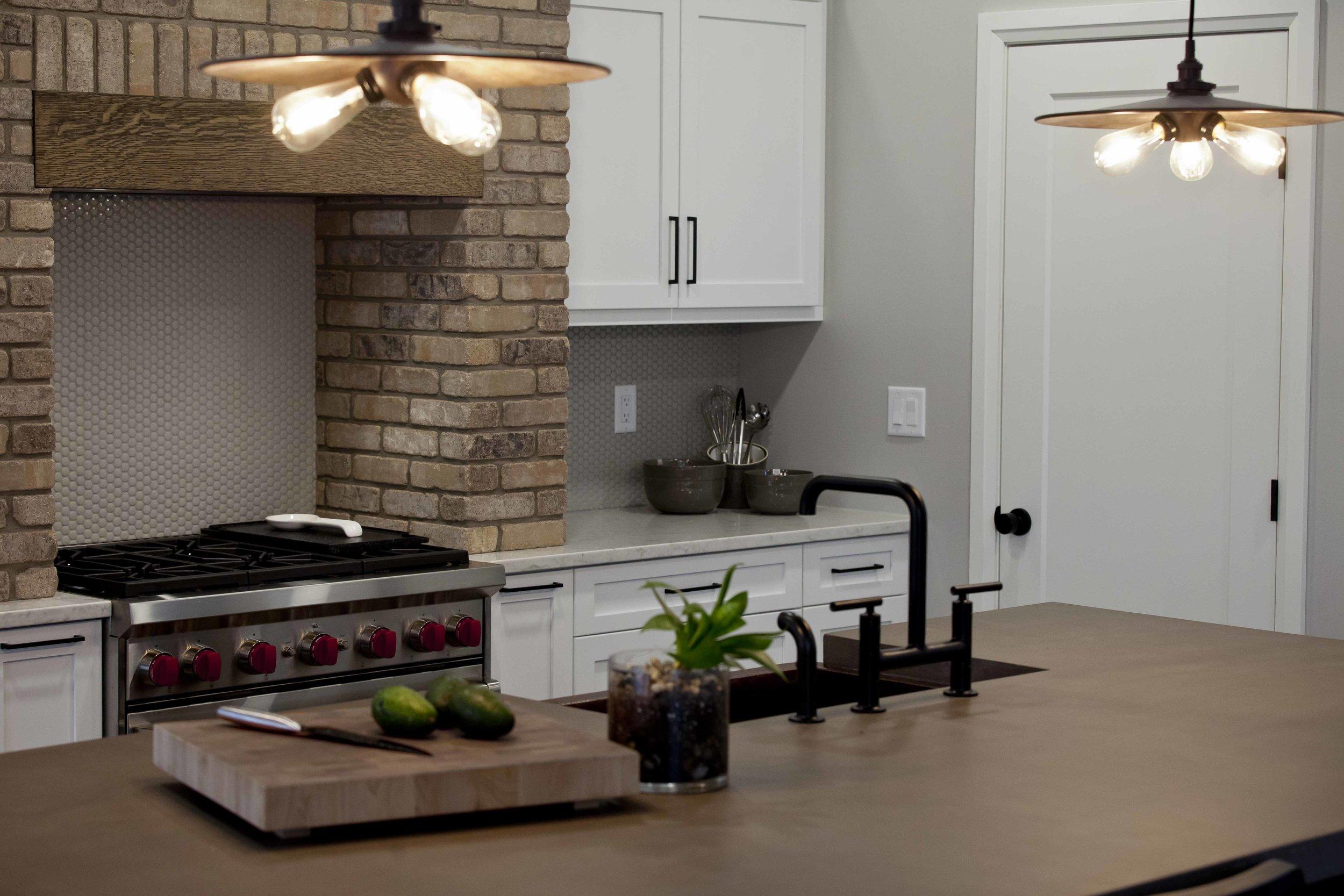 Workshop Cabinets & Design Camrose Alberta Interior Design and Cabinetry Custom Home Renovation New Build Interior Designer kitchen open concept Rustic Modern Farmhouse