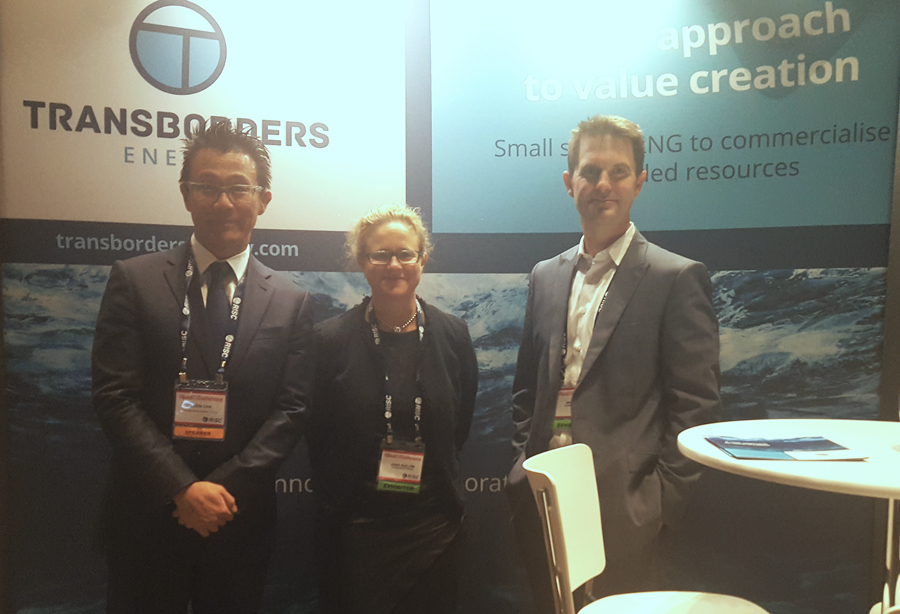 Transborders Energy stand at 2017 RIU Good Oil Conference