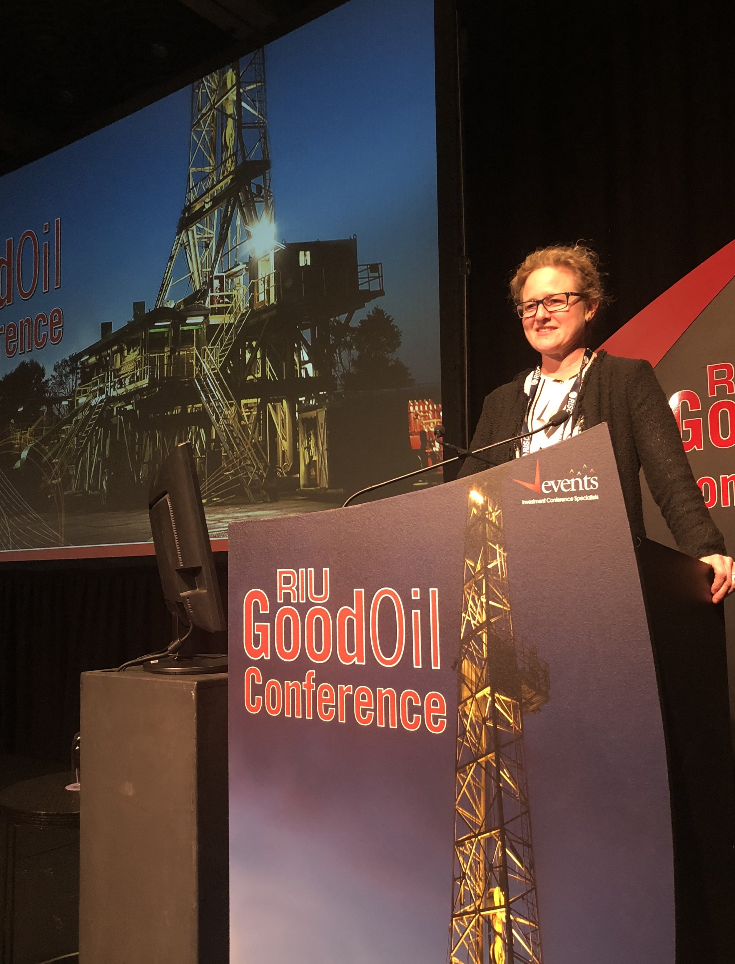 Anna Sudlow Presents at Good Oil 2018