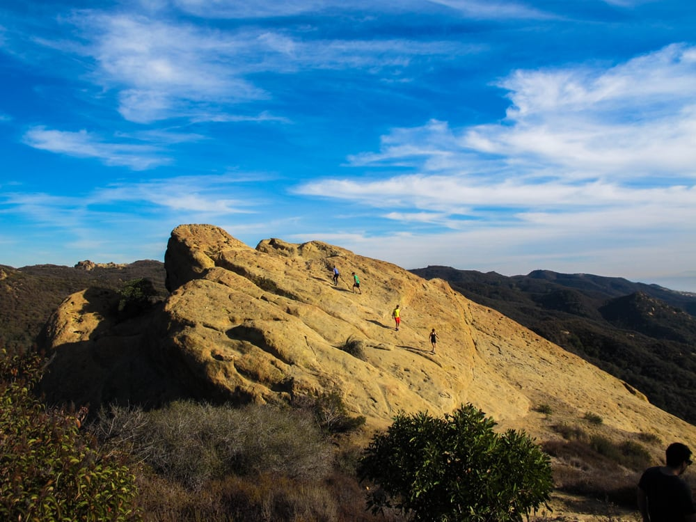 Eagle Rock at Topanga State Park. Photo from Camellia C. on Yelp.
