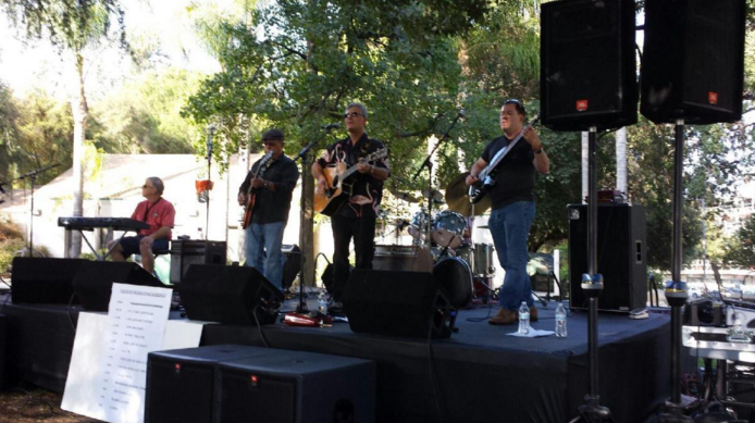 A performance at the Encino Family Festival