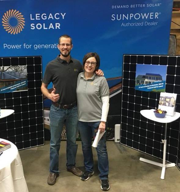 Luke and Angie of Legacy Solar