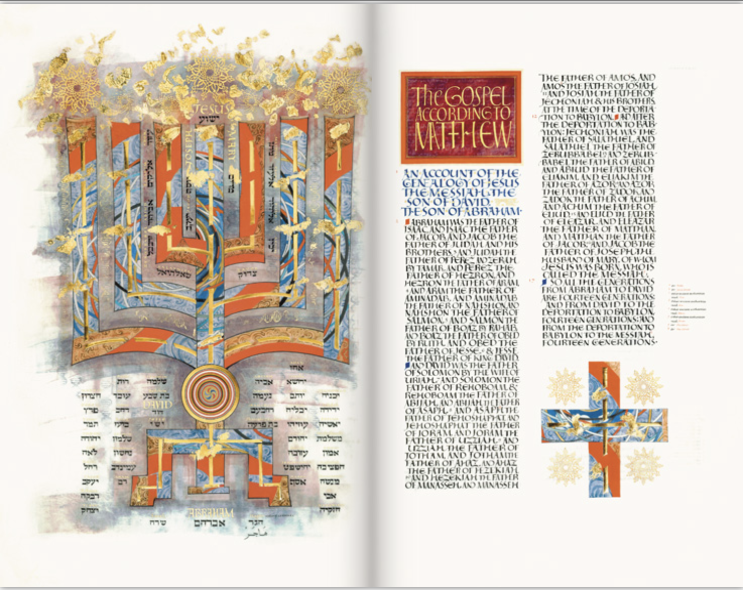 """PREORDER GIVEAWAY - Order A God Who Questions by Nov. 14 for a chance to win a copy of the gorgeous """"Gospel and Acts"""" volume of the Saint John's Illuminated Bible. To enter, simply send a copy of your invoice or proof of purchase to witnessevangelization@gmail.com."""