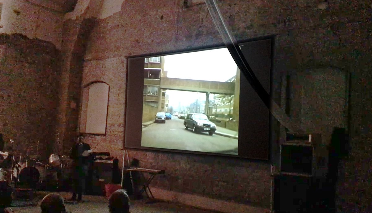 Peckham Festival. 2017   - An evening presenting rarely seen archive footage of Peckham through the ages. Working with curator William Warren and Chris Scales of Southwark Archives, Dzifa wrote a specially commissioned poem which she performed to archive ITV footage of the North Peckham Estates.