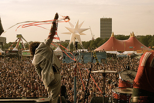 O2 Wireless Festival, Hyde Park, 2005 - Taking place in London every year, Dzifa featured as a poet in the inaugural festival in 2005.