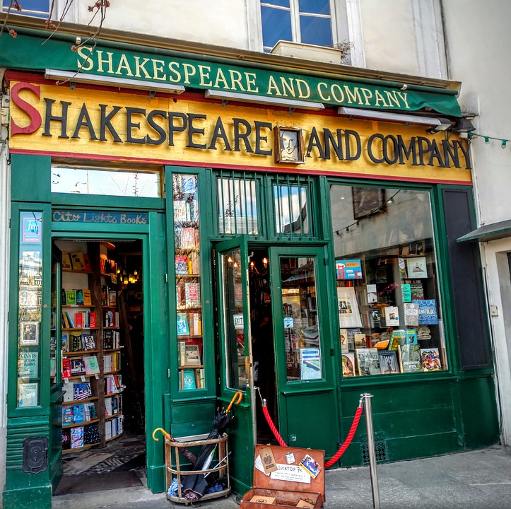 Shakespeare & Company Bookshop, Paris, 2008 - Arguably the most famous bookshop in thw world, Dzifa did her first poetry performance away from British soil in the venue which in the past has featured literary luminaries such as James Baldwin, AnaÏs Nin, Bertold Brecht, Jonathan Safran Foer and Jeanette Winterson