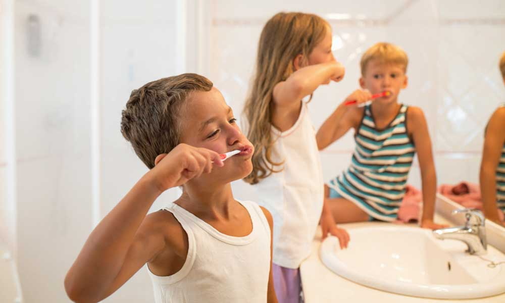 Oral Hygiene Advice For Kids - Good habits start young→