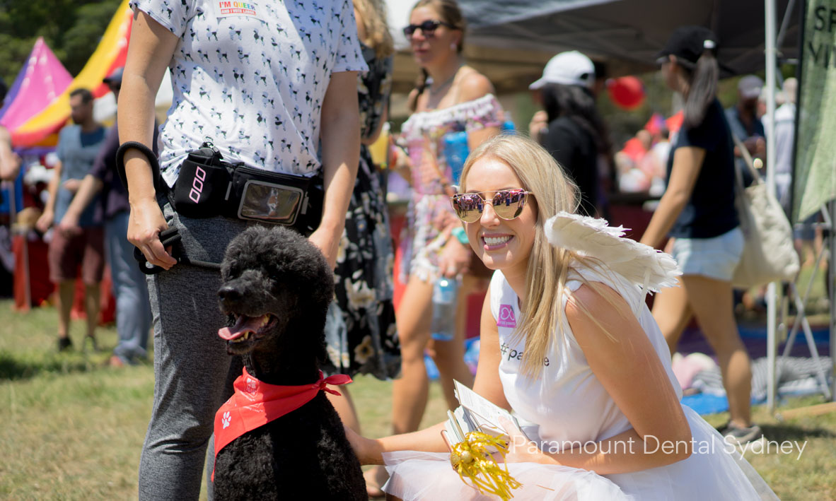 One cute pooch with Jenna