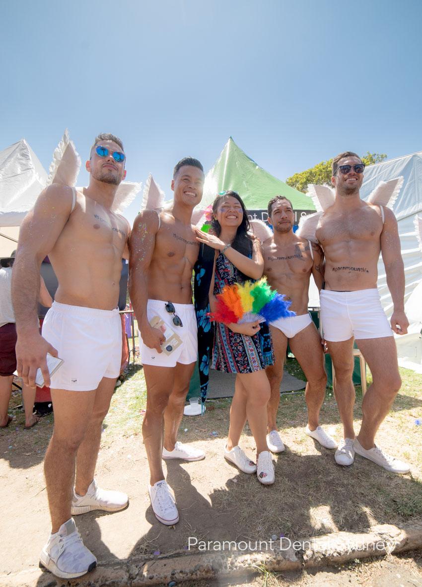 Rob Brown, Shondel Surma, Shondel's new admirer, Rakena and Markus