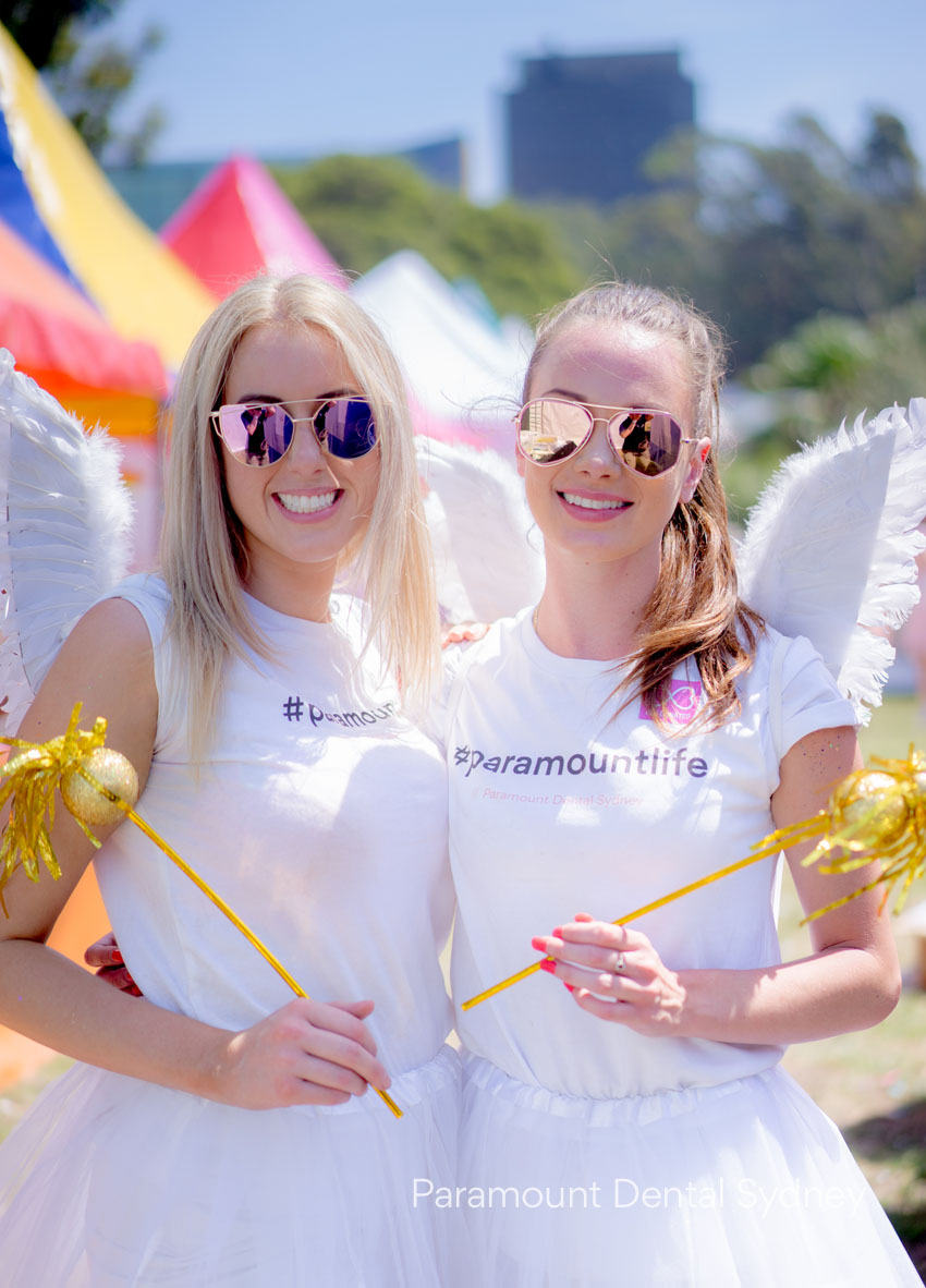 Our gorgeous Paramount Dental girls dressed as our #paramountlife tooth fairies