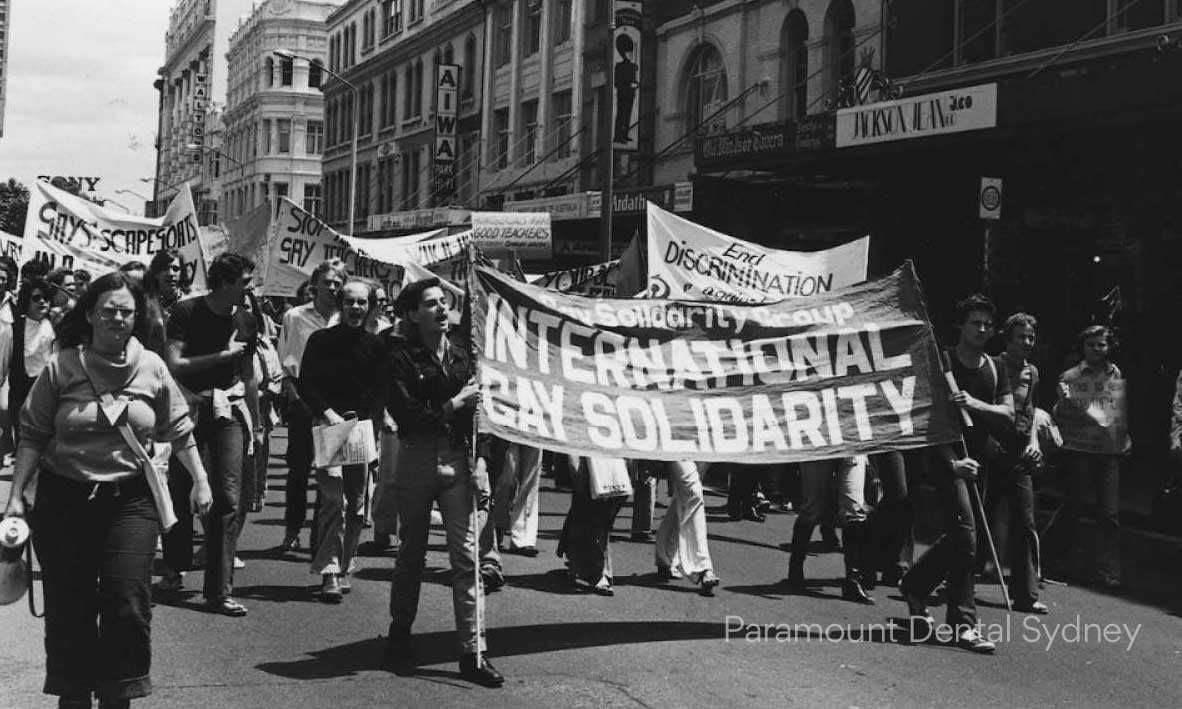 Sydney's first Mardi Gras was a protest.