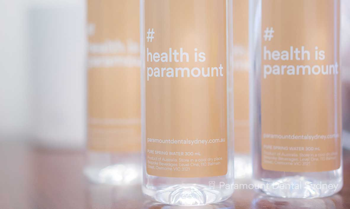 Enjoy our #HealthisParamount bottled water