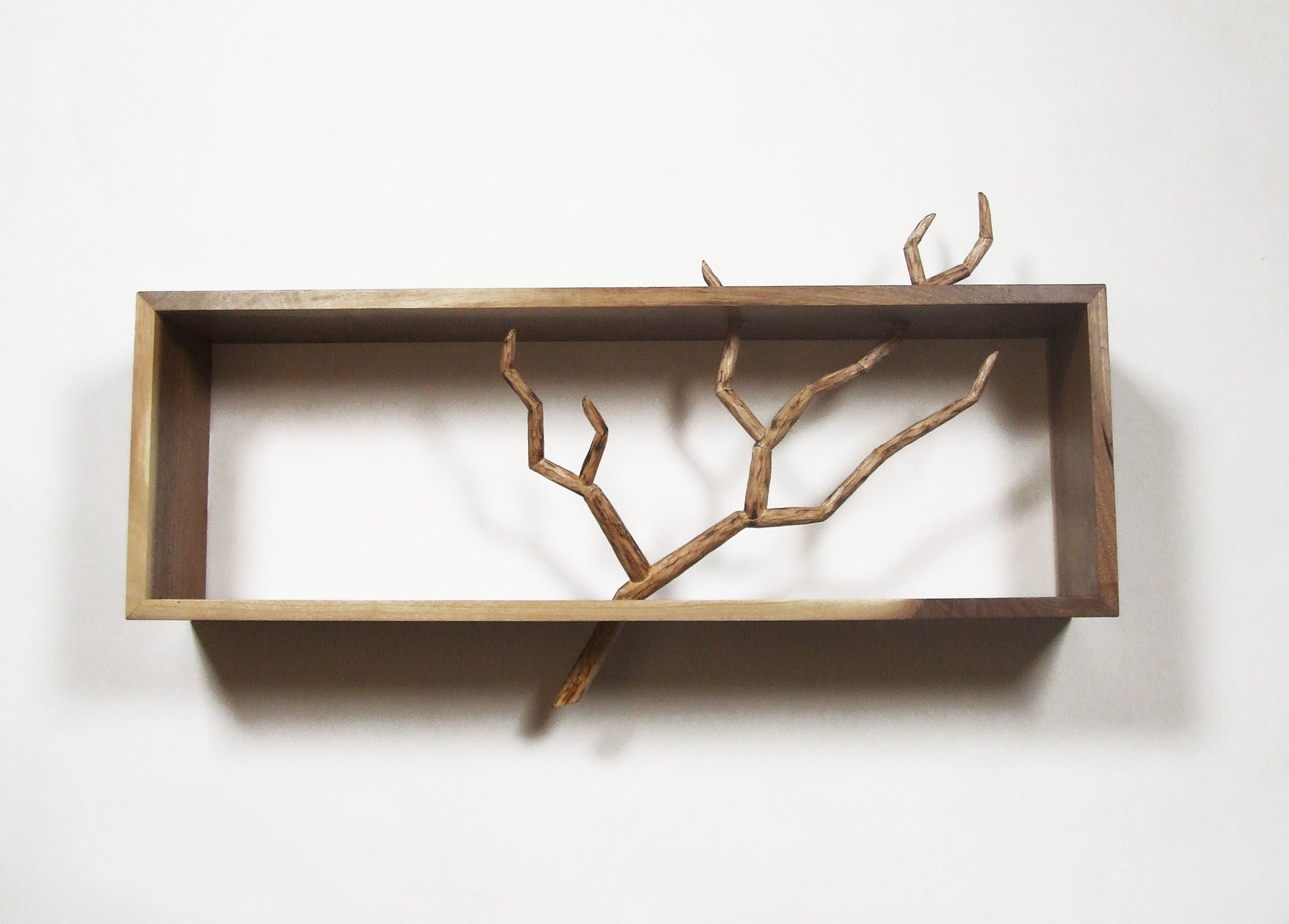 Carved Branch Cabinet : Leaning Style