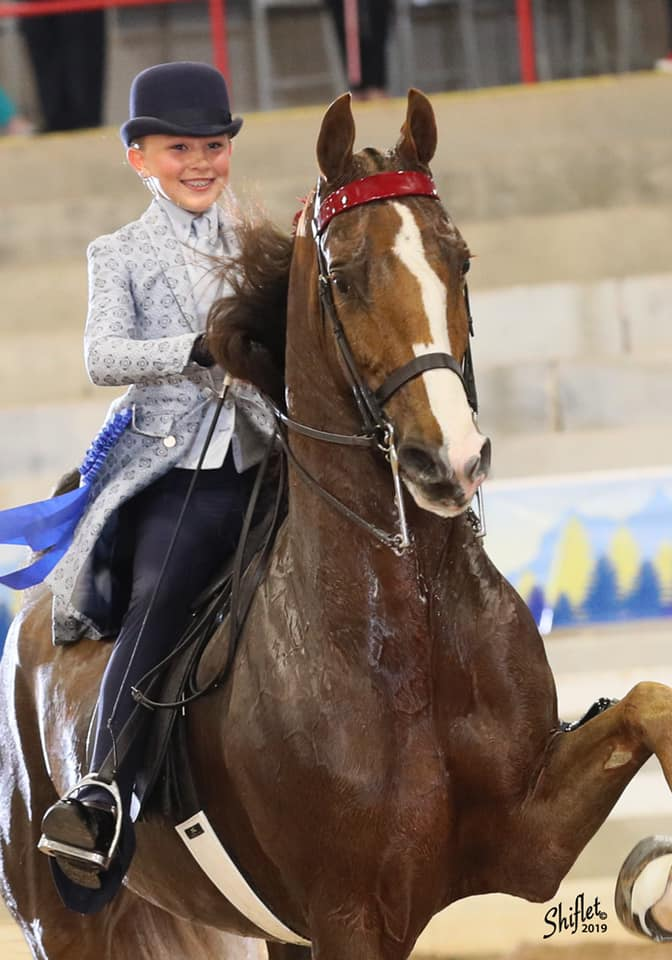 Absolutely Sassy and Molly Crim - Congratulations to The Crim Family on the selection of Absolutely Sassy. Selling Agent: Desmar Stables, Receiving Trainer: Devore Stables