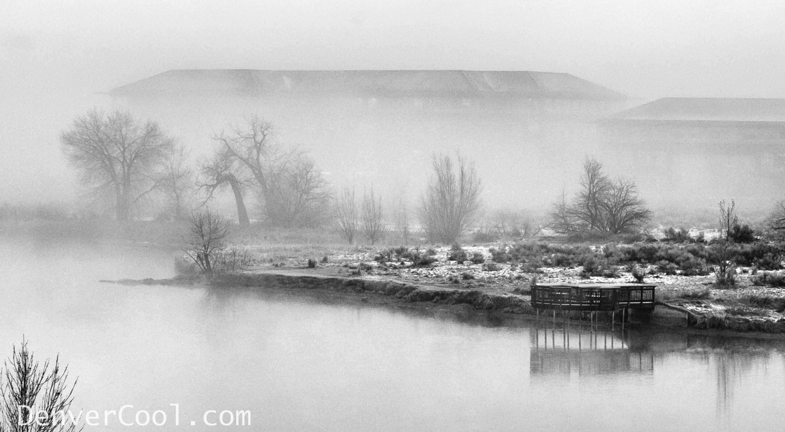 Foggy Morinng on the Lake