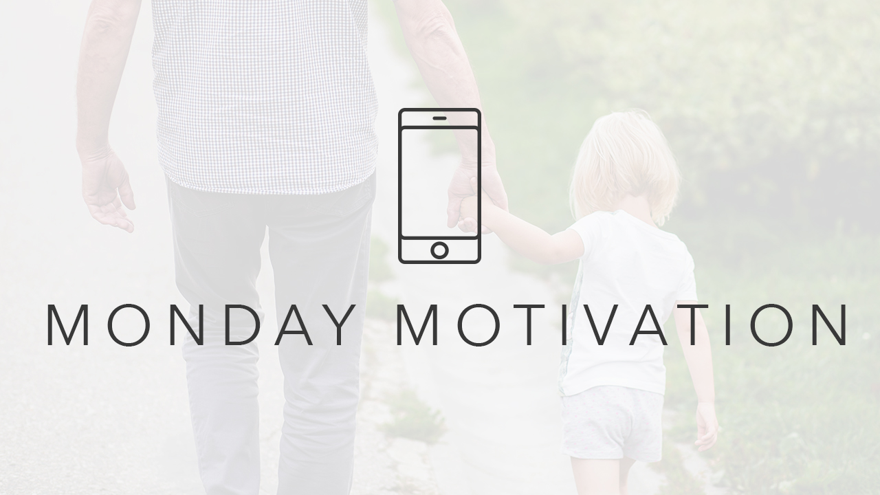 Every Monday you will receive a text message with motivational tips, statements, and links to help you become the parent you want to be and your children need.