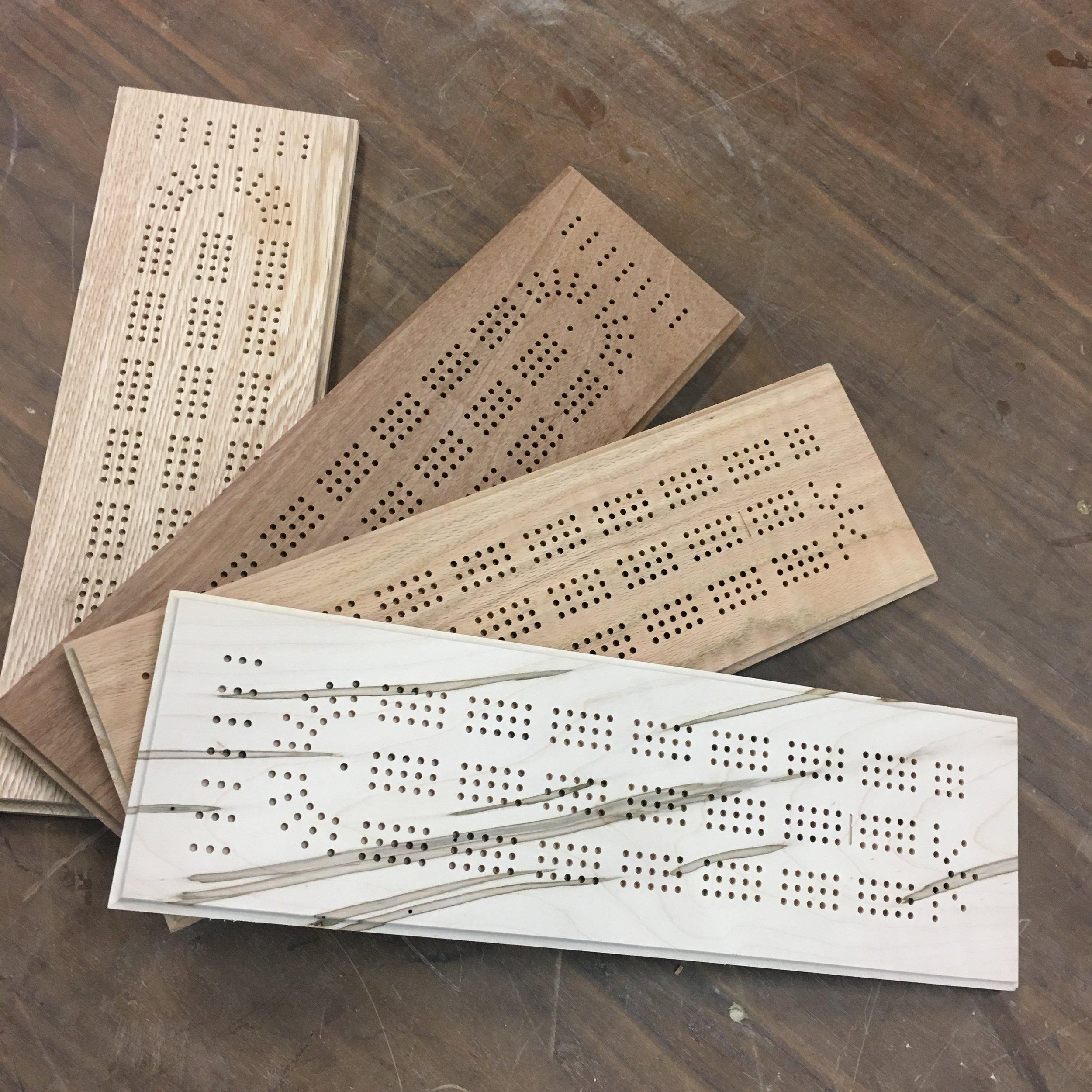 Cribbage Boards