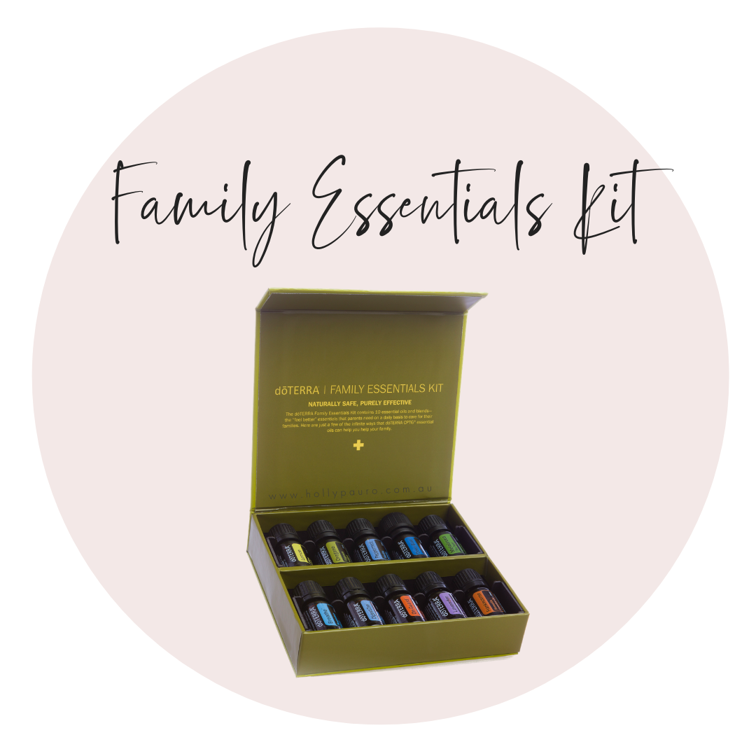 $174 AUS  / $195 NZ / $150 US  5ml bottles of Lemon, Lavender, Frankincense, Peppermint Oregano, Tea Tree, Easy Air,Ice Blue, OnGuard, DigestZen & 15ml Smart and Sassy   Lemon :  Detox, Cleanse + Focus  Lavender:  Sleep, Calm + Soothe  Frankincense:  Cellular Health  Peppermint:  Energy + Focus  Oregano:  Immunity + Digestion  Tea Tree:  Hair, Skin, Ears + Nails  Easy Air:  Ease Breathing + Snoring  Ice Blue:  Ease Discomfort  OnGuard:  Immunity + Protection  DigestZen:  Digestion   Smart & Sassy:  Sugar Cravings