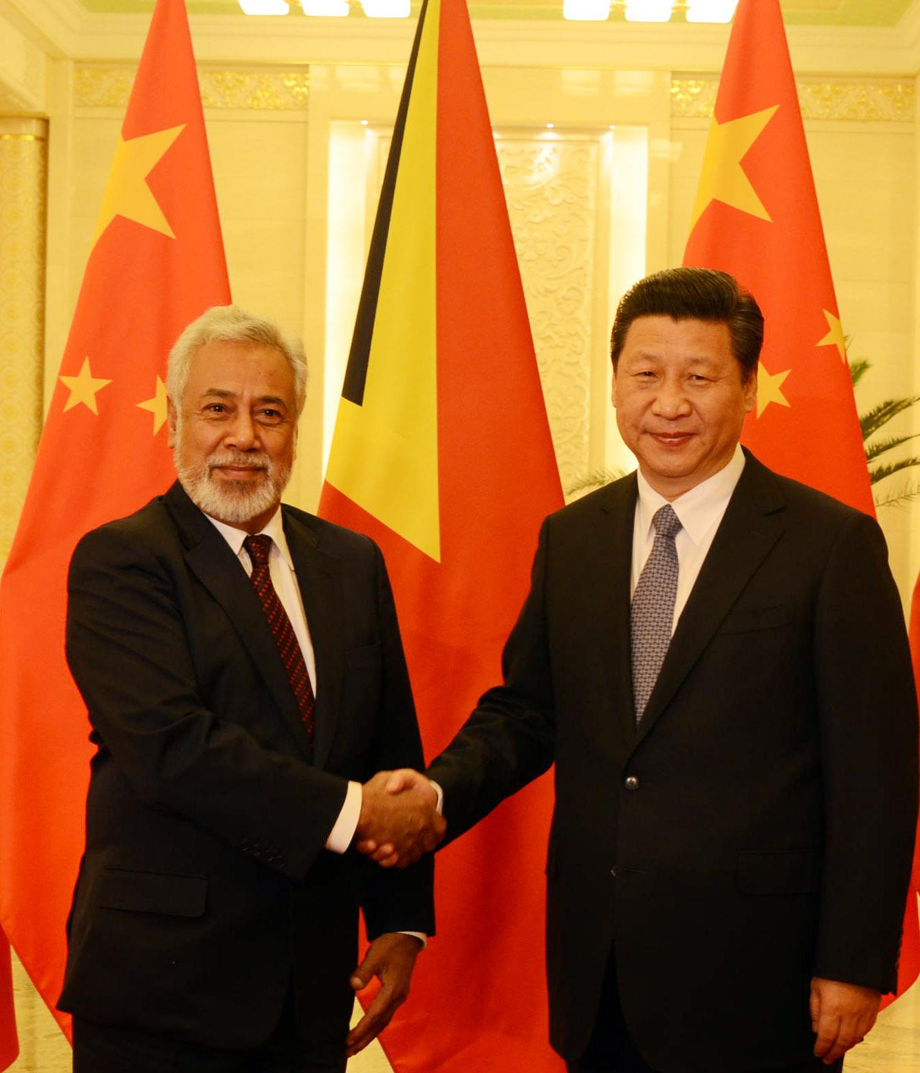 PM XG with President of China Xi Jinping.jpg