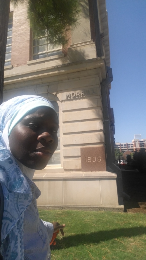 English Building Selfie