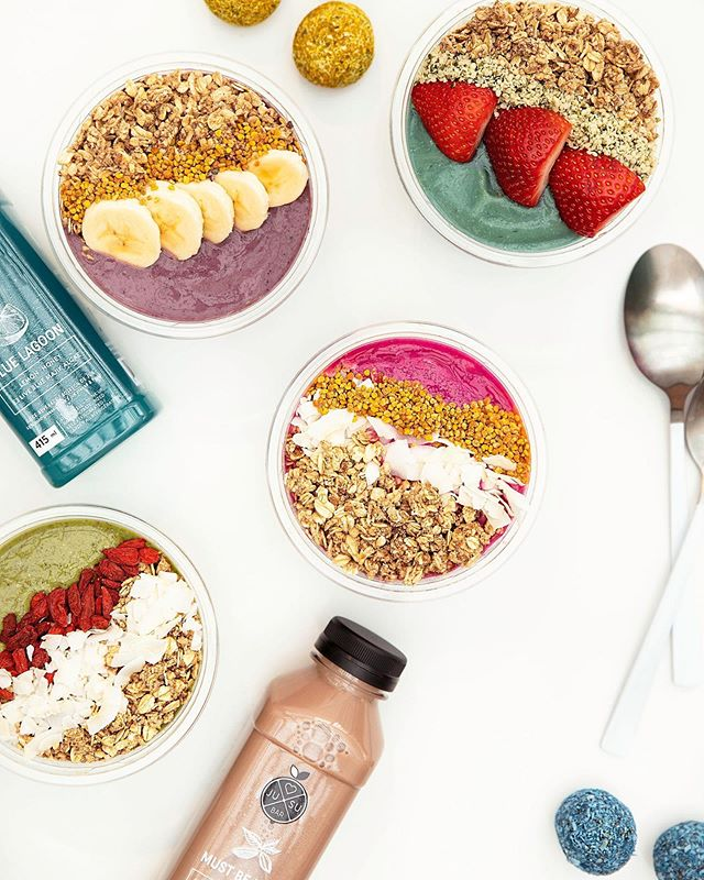 Mixing and Matching our smoothie bowls and #coldpressedjuice today! High in nutrients, vitamins, superfood benefits and oh so pretty to look at, these smoothie bowls are seriously perfect. 💚💜💙❤️🧡 Which #smoothiebowl would you choose? . . . . . . . 📷: @extraforavocado @mjay.photography  #smoothiebowls #coldpressed #superfoods #jusubar #jusubarbc #yyj #vancouver #victoria #organic #bc #victoriabc #victoriabcfood #victoriabclife #healthyliving #healthyeating #naturalfood #healthfood #vegan #eatclean #plantbased #explorebc #pnw #vancouver #wellness #comment #plantpowered #healthylifestyle #juicecleanse