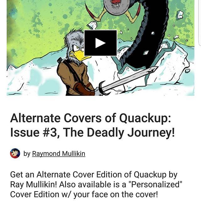 Check out fellow comic creator Raymon Mullikin's kickstarter to back his latest project. It's in its final 60 hours! #kickstarter #kickstartercomic #artistssupportingartists #supportindiecomics