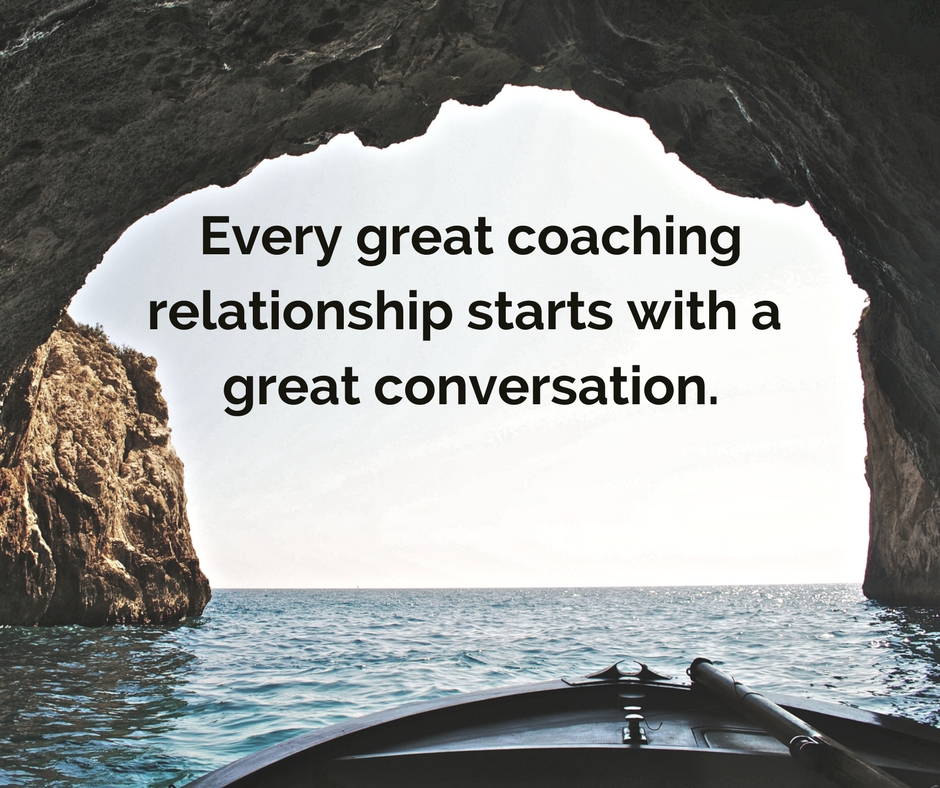 every great coaching relationship starts...