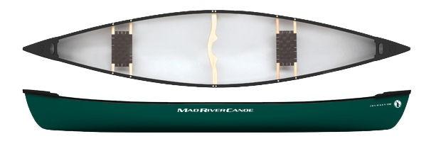 Mad River CanoeSEK 200.-/h - including paddle, life west, wet-suit for rentbook at NORRSKEN LODGE