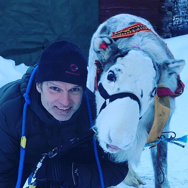 Happy Holger & Holger experience #reindeer #fantastictime . . . .  #swedishlapland #wanderlust #naturelovers #travelsweden #goexplore #visitsweden #ig_sweden #instasweden #exploresweden #visitlapland #outdoorbloggers #polarcircle #winterwonderland #travellapland #torneälv #makeadventure #travelscandinavia #explorescandinavia #simplyadventure #photooftheday #ourlapland #igsweden