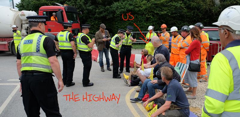 ....er, what highway obstruction?