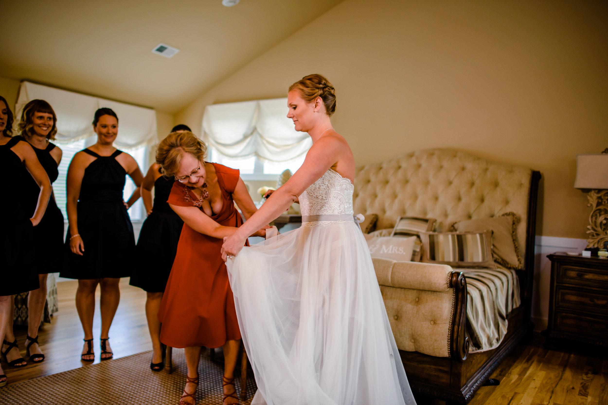 The Black Stallion Wedding - Getting Ready