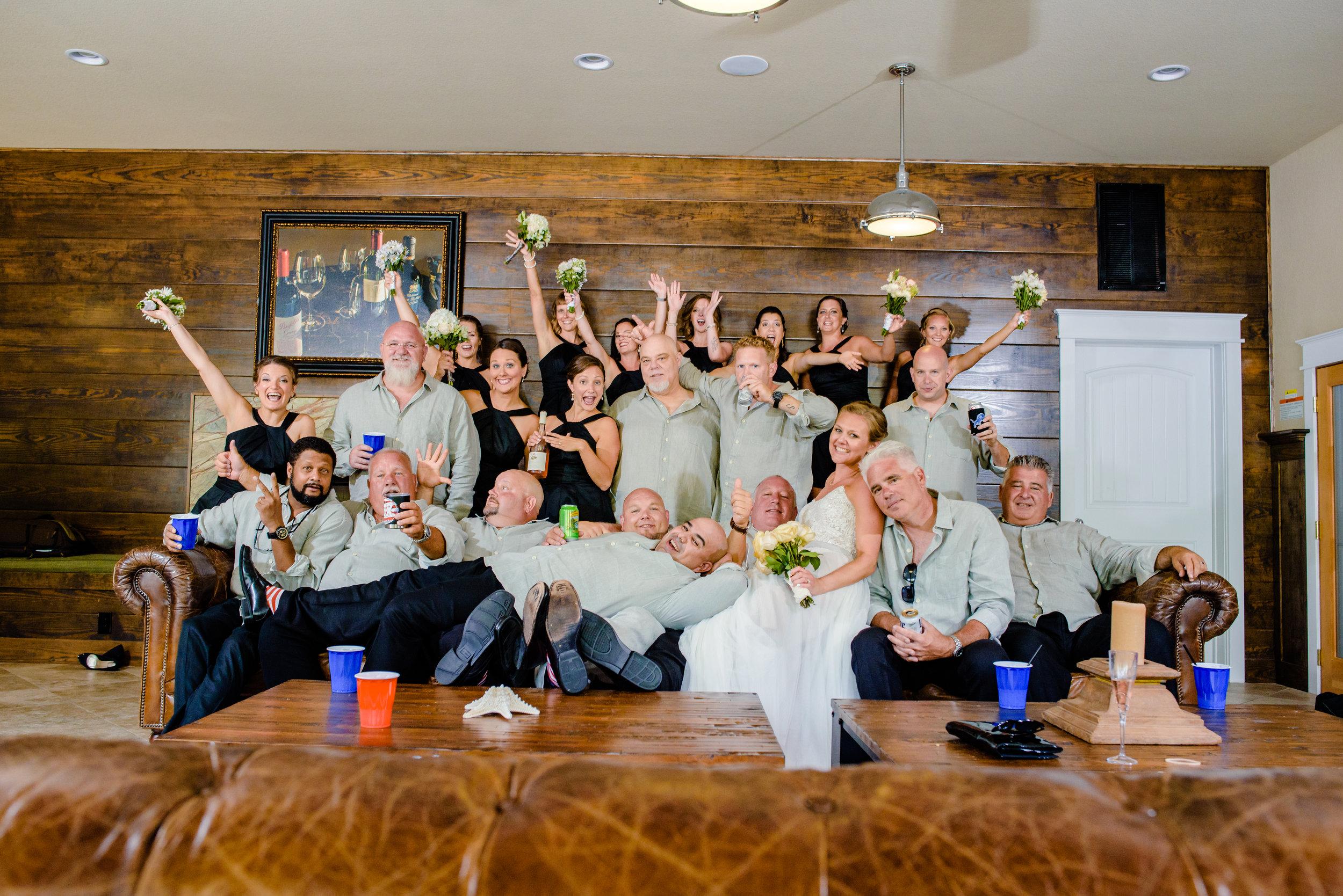 The Black Stallion Wedding - Bridal Party