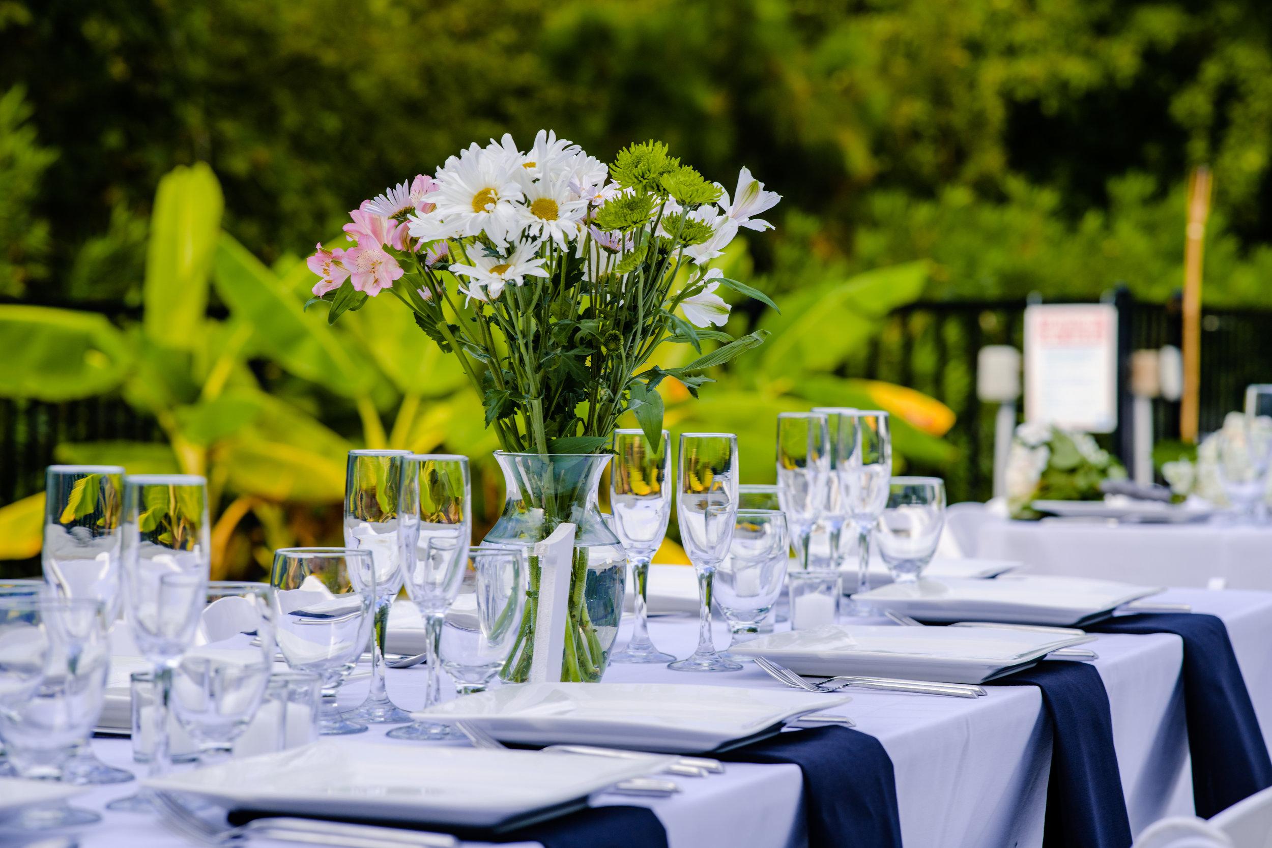 The Black Stallion Wedding - Poolside Dining