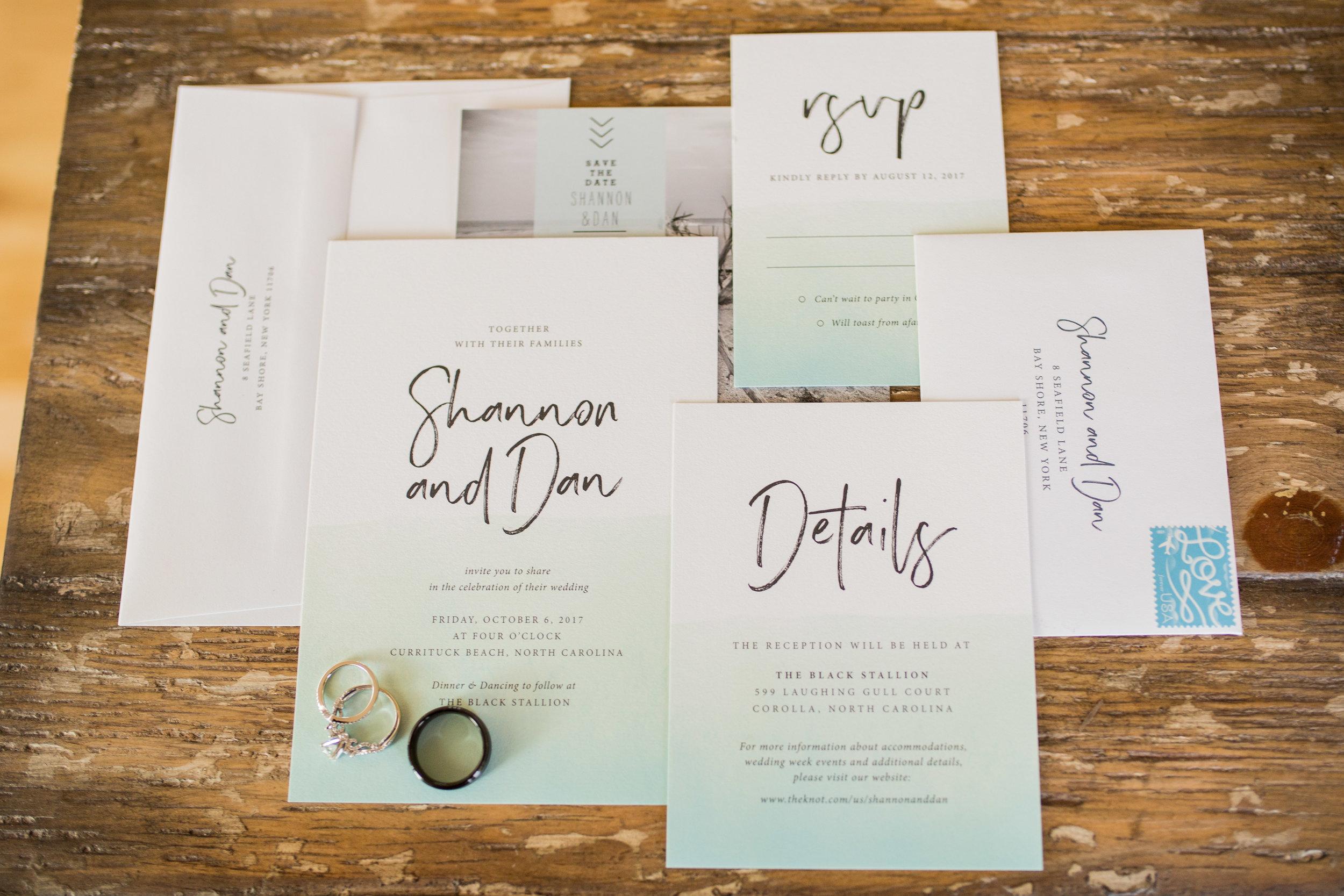 The Black Stallion Wedding Invitation