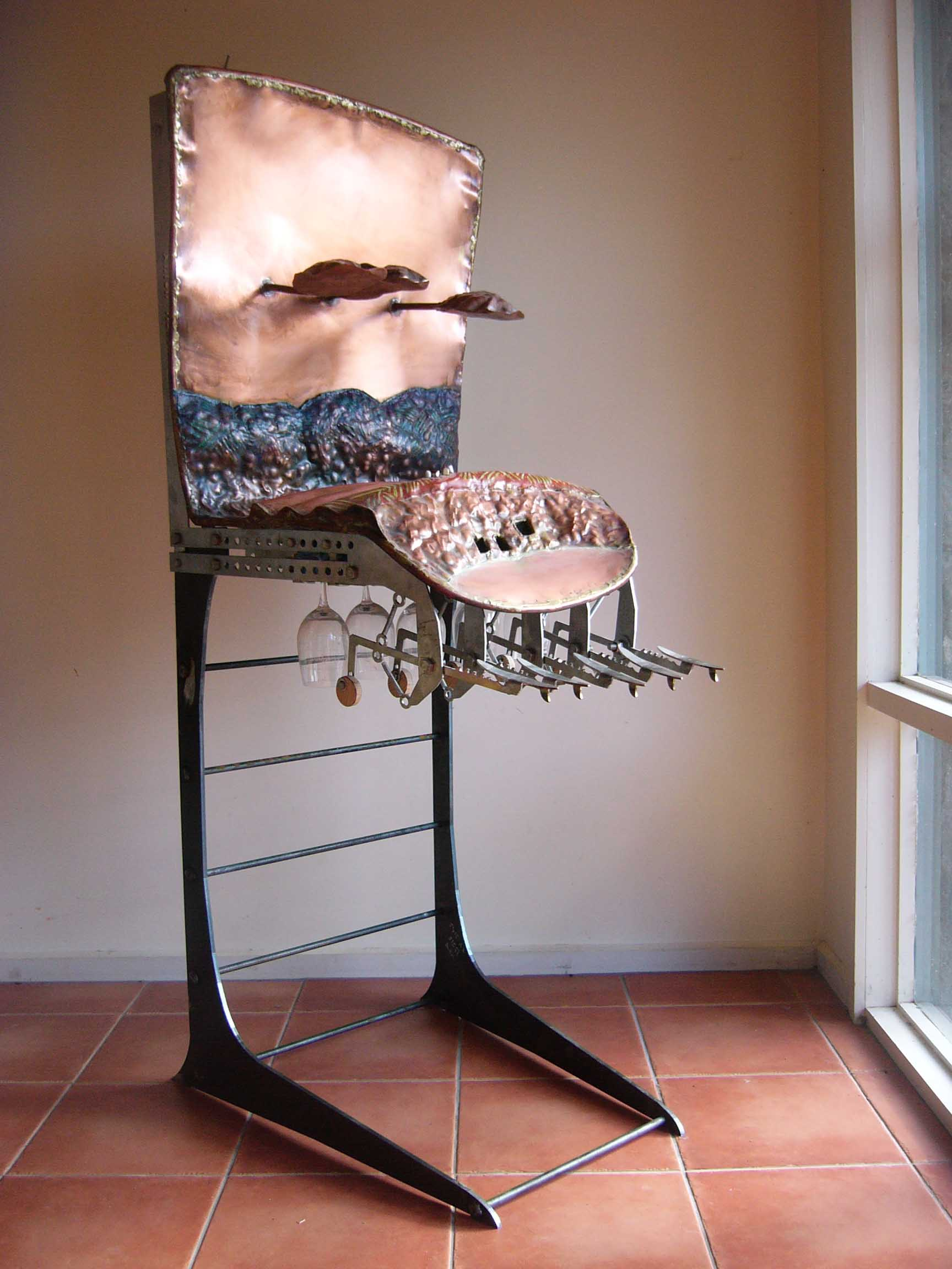 Hasell 'Wine glass chime' 2003