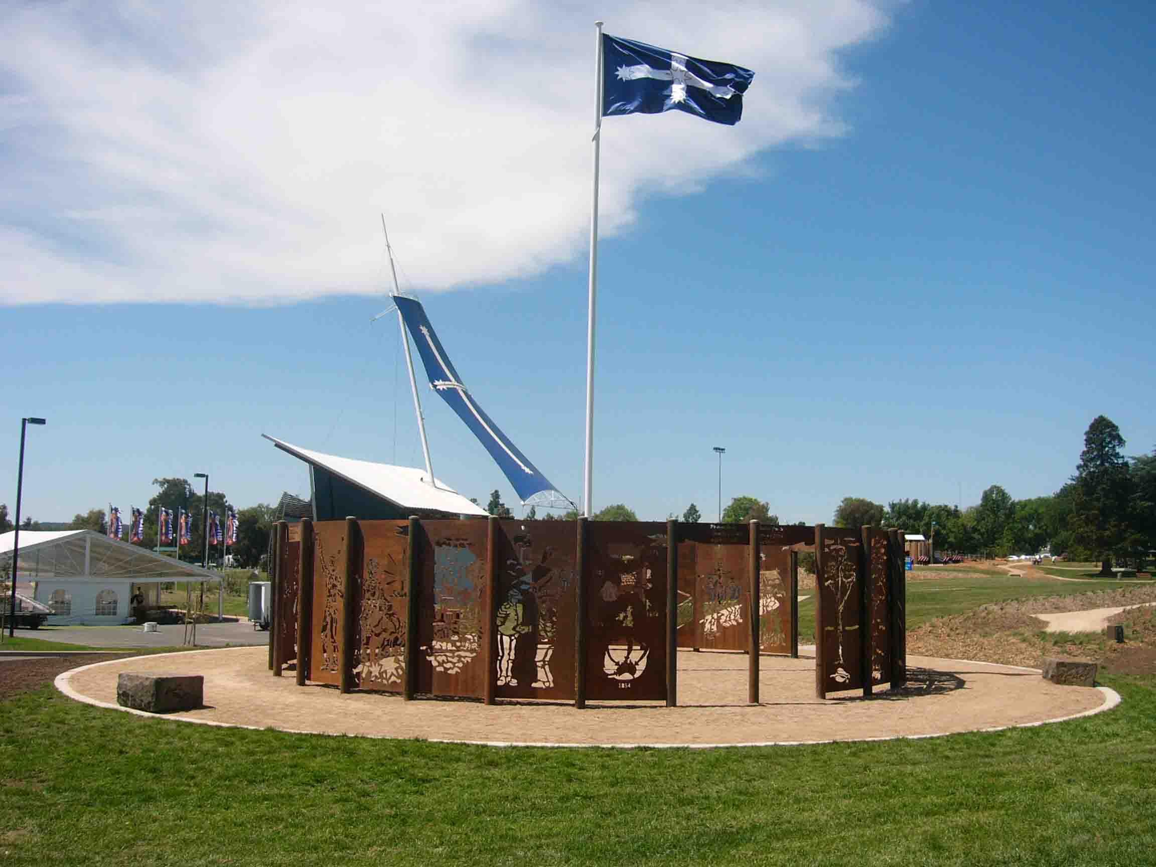 Hasell 'Eureka Circle' Eureka Park Ballarat, 2004
