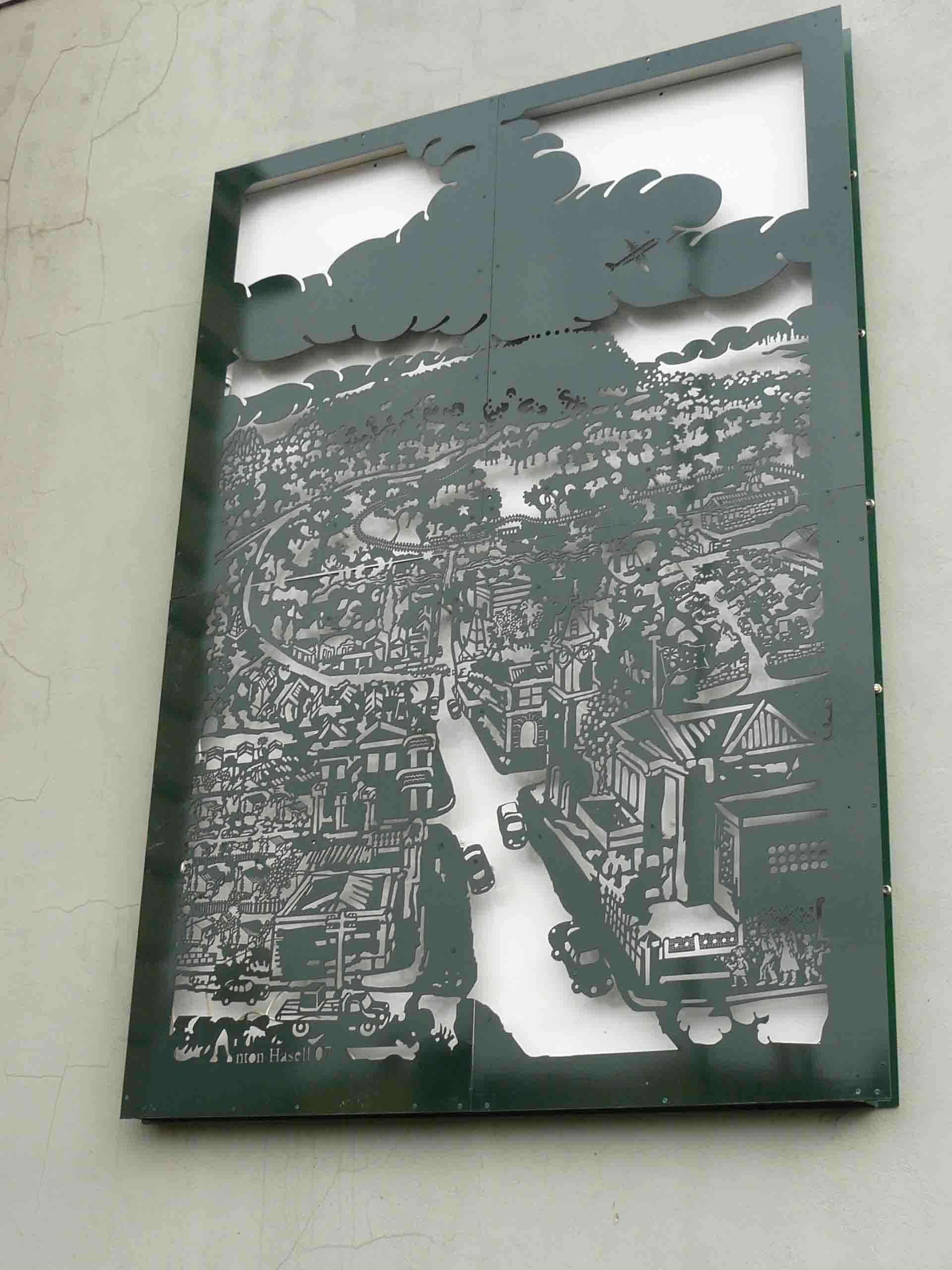Hasell 'Kyneton wall panel' Town Hall 2007