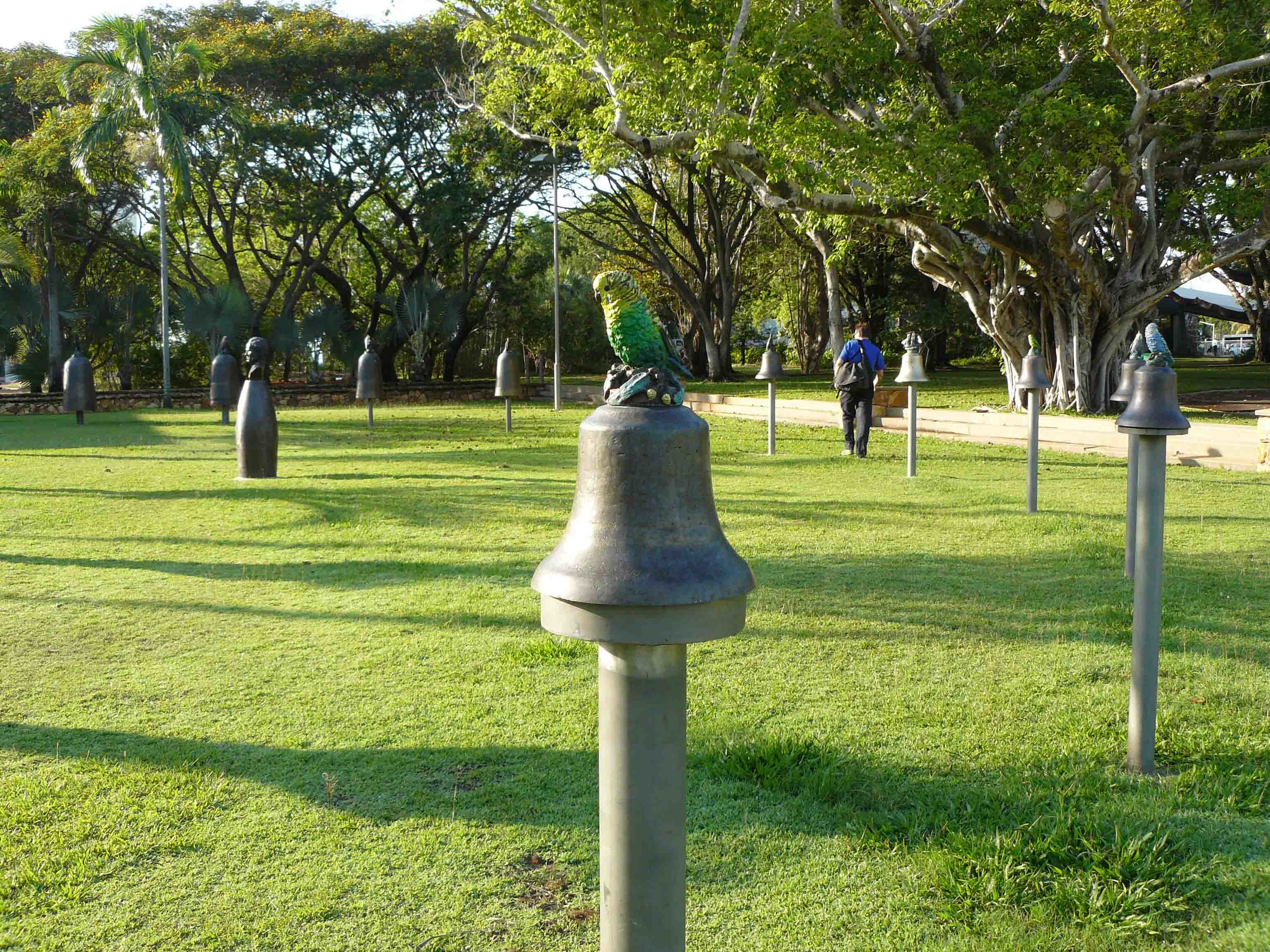Hasell 'HMS Beagle Ship Bell Chime' Civic Square Darwin 2009